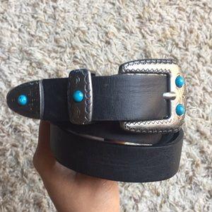 Black medium belt H&M NEW